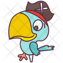 Pirate Parrot Icon