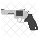 Pirate Revolver Weapon Pistol Icon