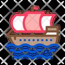 Sea Boat Ship Icon