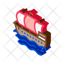 Sea Boat Ship Icon