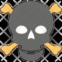 Pirate Skull Halloween Bone Pirates Icon
