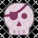 Pirate Skull Halloween Icon