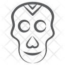 Pirate Skull Danger Headbone Icon