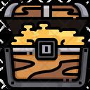 Pirate Treasure Treasure Treasure Box Icon