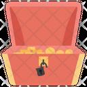 Pirates Treasure Box Icon