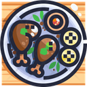 Piri Piri Chicken Mozambique Icon
