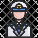 Pirot Pilot Plane Driver Icon