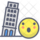 Pisa Italy Tower Icon