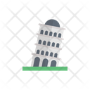 Pisa Tower Landmark Icon
