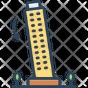 Tilt Building Til Declination Icon