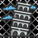 Pisa Tower Architectonic Europe Icon