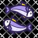 Animal Couple Fish Icon