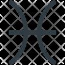 Pisces Astrology Zodiac Icon