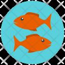 Pisces Sign Symbol Icon