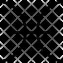 Pisces Symbol Horoscope Icon