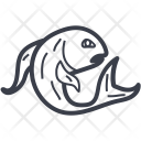 Pisces Sign Zodiac Icon