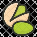 Pista Pistachio Nut Icon