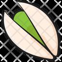 Pistachio Dry Fruit Edible Icon