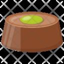 Pistachio Chocolate Icon