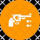 Pistol Revolver Gun Icon