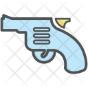 Pistol Firearm Revolver Icon