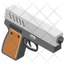 Pistol Weapon Military Gun Icon