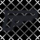 Pistol Gun Firearm Icon
