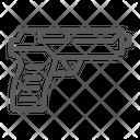 Pistol Gun Army Icon