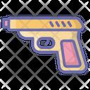 Pistol Gun Weapon Icon