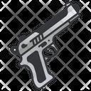 Pistol Gun Handgun Icon