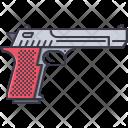 Pistol Gun War Icon