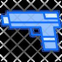 Pistol Gun Security Icon