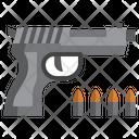 Pistol Murder Music And Multimedia Icon