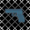 Pistol Revolver Handgun Icon