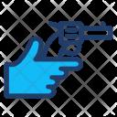 Pistol Hand Gun Icon