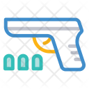 Pistol Weapon Bullets Icon