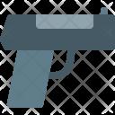 Pistol Object Gun Icon