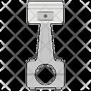Piston Ic Engine Mechanical Tool Icon