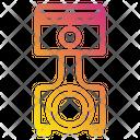 Piston Motor Engine Icon