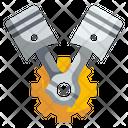 Piston Motor Car Icon