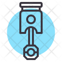 Piston Cylinder Engine Icon