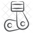 Piston Ring Spring Hardware Icon