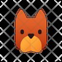 Pitbull Dog Puppy Icon