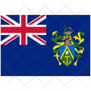 Flag Country Pitcairn Islands Icon