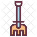 Agriculture Farm Pitchfork Icon