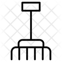 Pitchfork Rake Tools Icon
