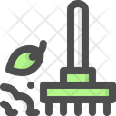 Rake Pitchfork Gardening Tool Icon