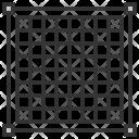 Pixel Grid Artboard Icon