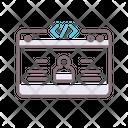 Pixel Web Website Icon