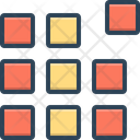 Pixel Pattern Picture Element Icon